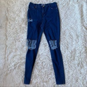 ◾️3/$25 Revamped Distressed Ripped Skinny Jean